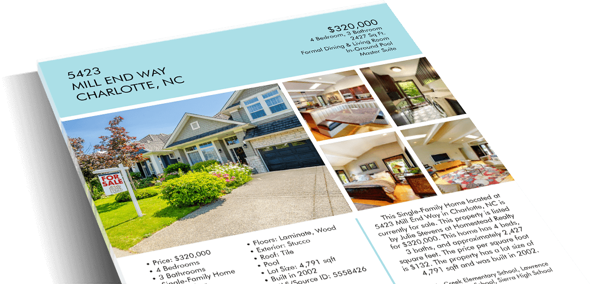 Real Estate Sell Sheet Aprilonthemarchco - Real estate show sheet template
